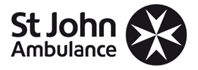 St John Ambulance volunteer giving first aid