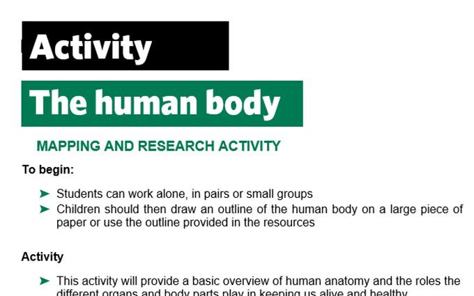 KS2-A16-Human body-teacher