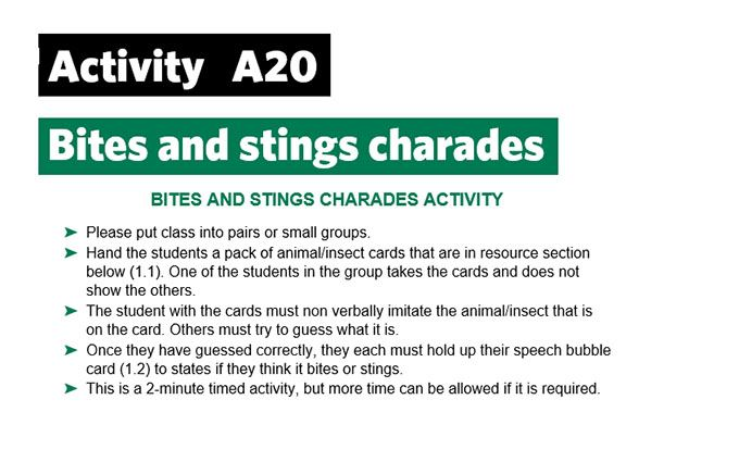 KS2-A20-Bites and stings-charades
