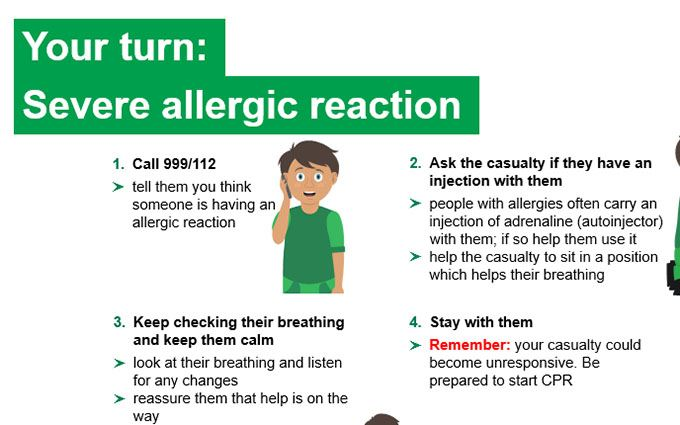 KS2-Severe allergic reaction-Your turn