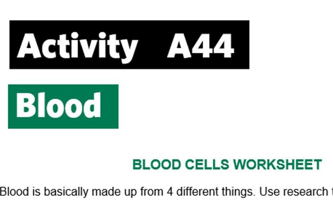 KS3-A44-Maths blood content