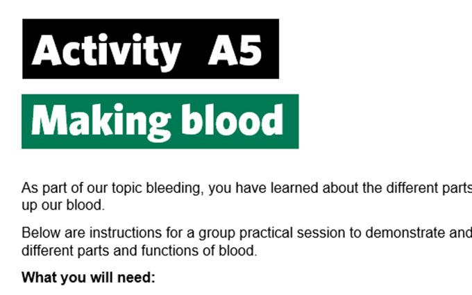 KS4-A5-Making blood