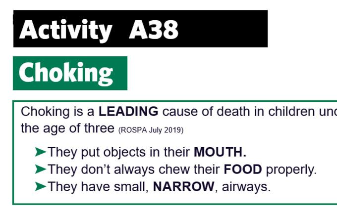 KS4-A38-Answers choking word filler