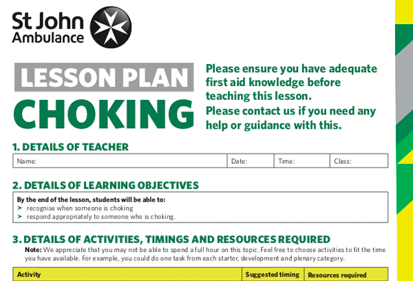 lesson-plans-for-adult-choking-first-aid