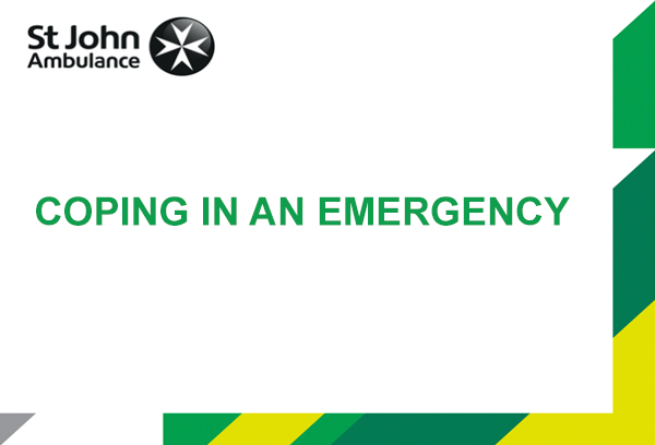 Coping in an Emergency presentation