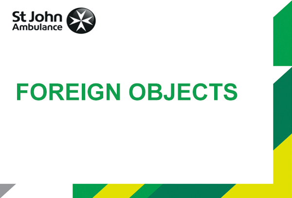 Foreign Objects presentation