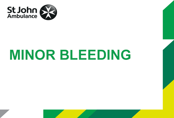 Minor Bleeding presentation