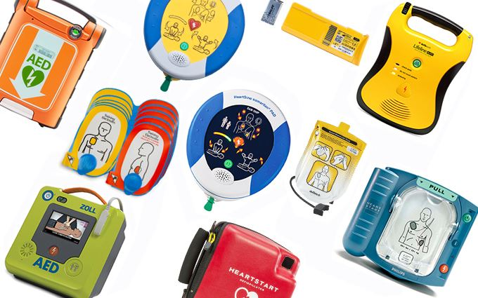 Defibrillators, accessories and training models