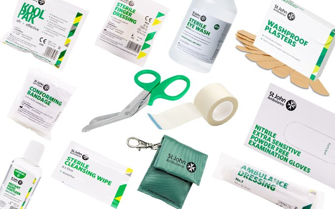 First aid supplies and consumables