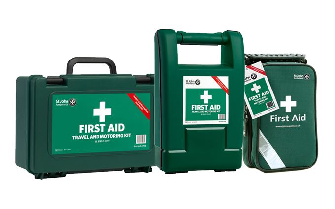 Travel and Motoring First Aid Kits