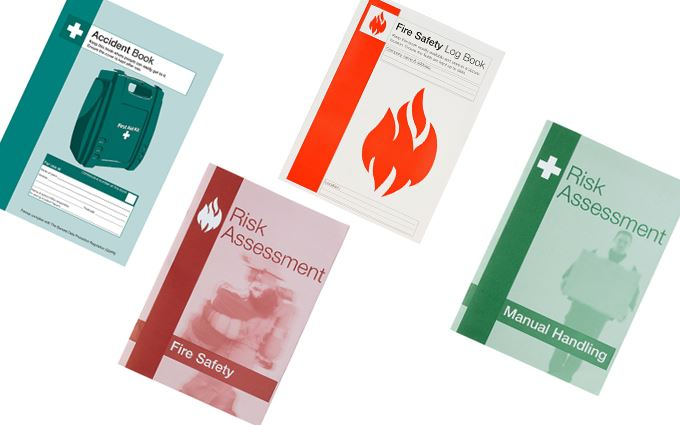 Risk Assessment and health and safety log books