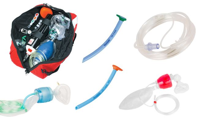 Resuscitation equipment and airway maintenance