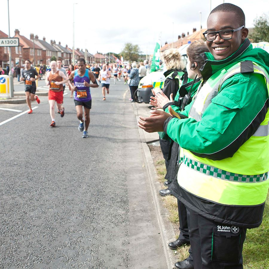 Volunteer at Great North Run