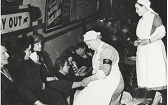 Nursing in 1940