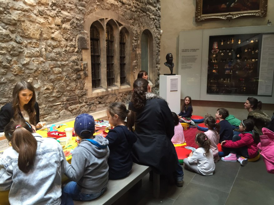 Children at the Museum of the Order of St John