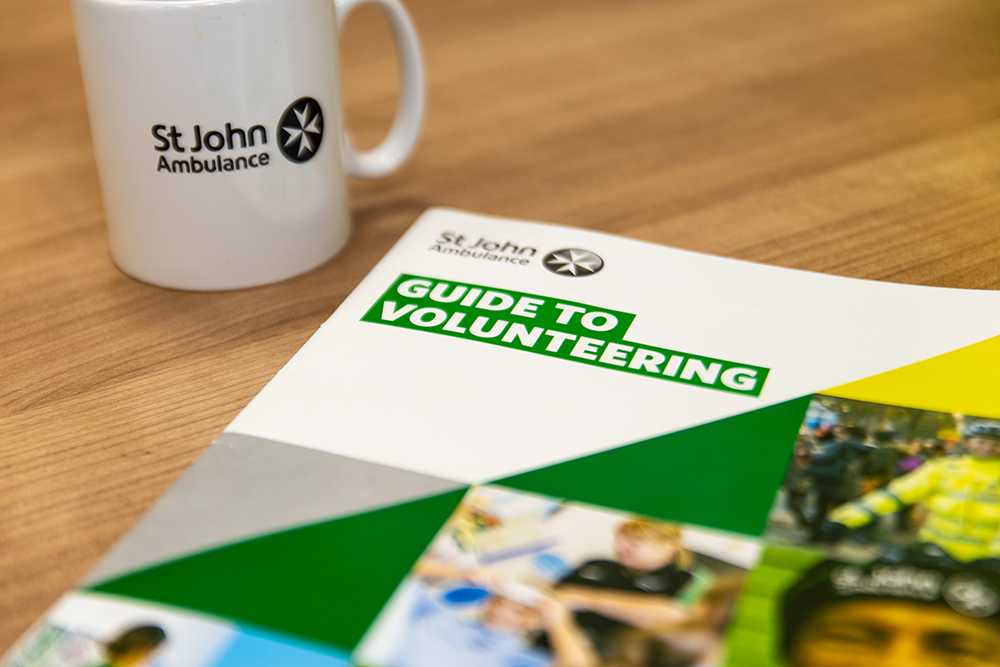 St John Ambulance Guide to Volunteering