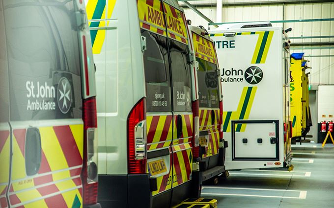 St John Ambulances