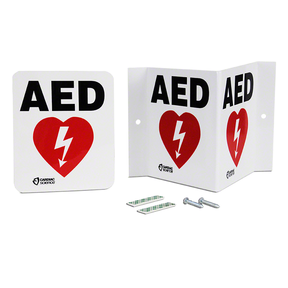 Cardiac Science™ Defibrillator Wall Mount Sign