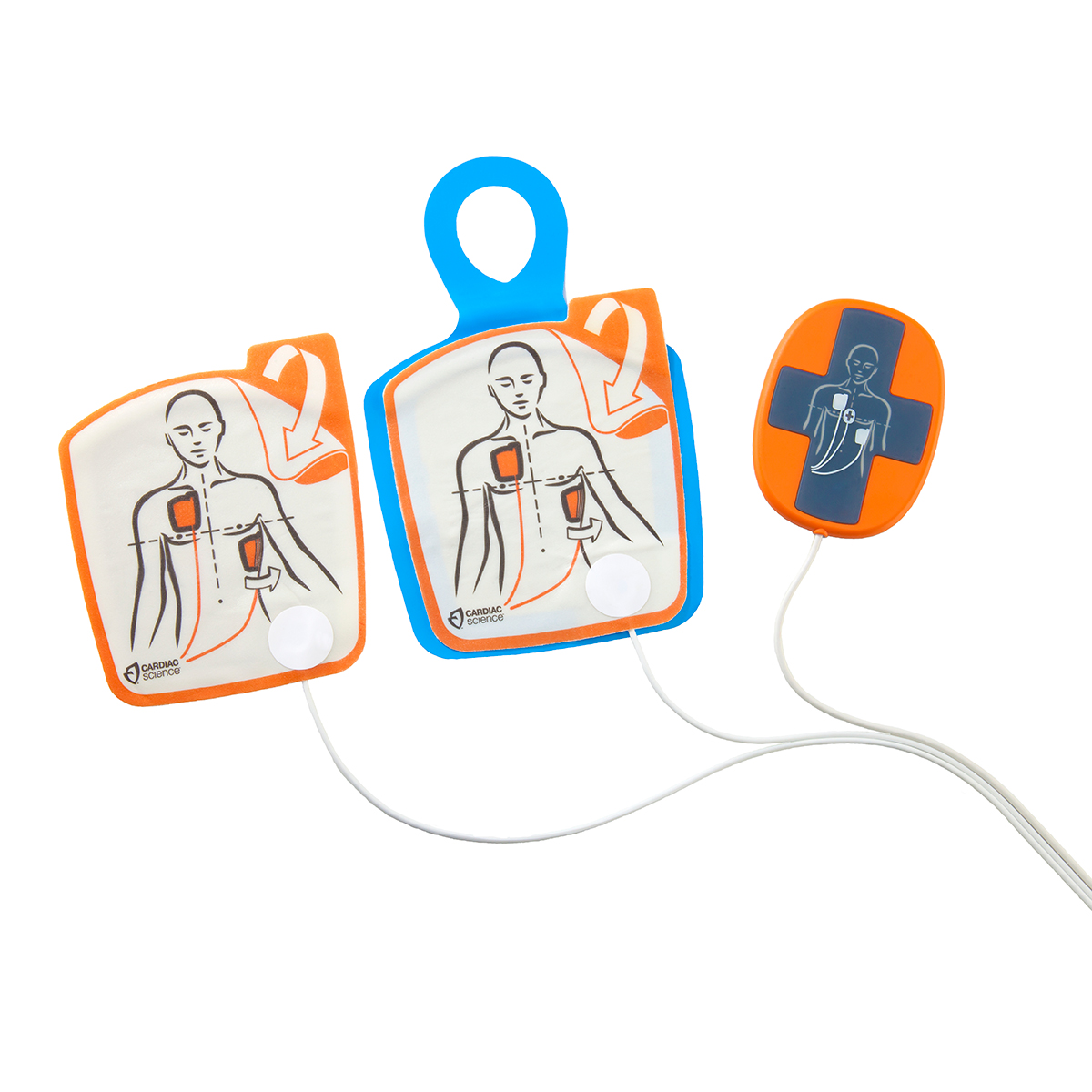 Cardiac science™ Powerheart® G5 Adult Defibrillator Pads with CPR Device