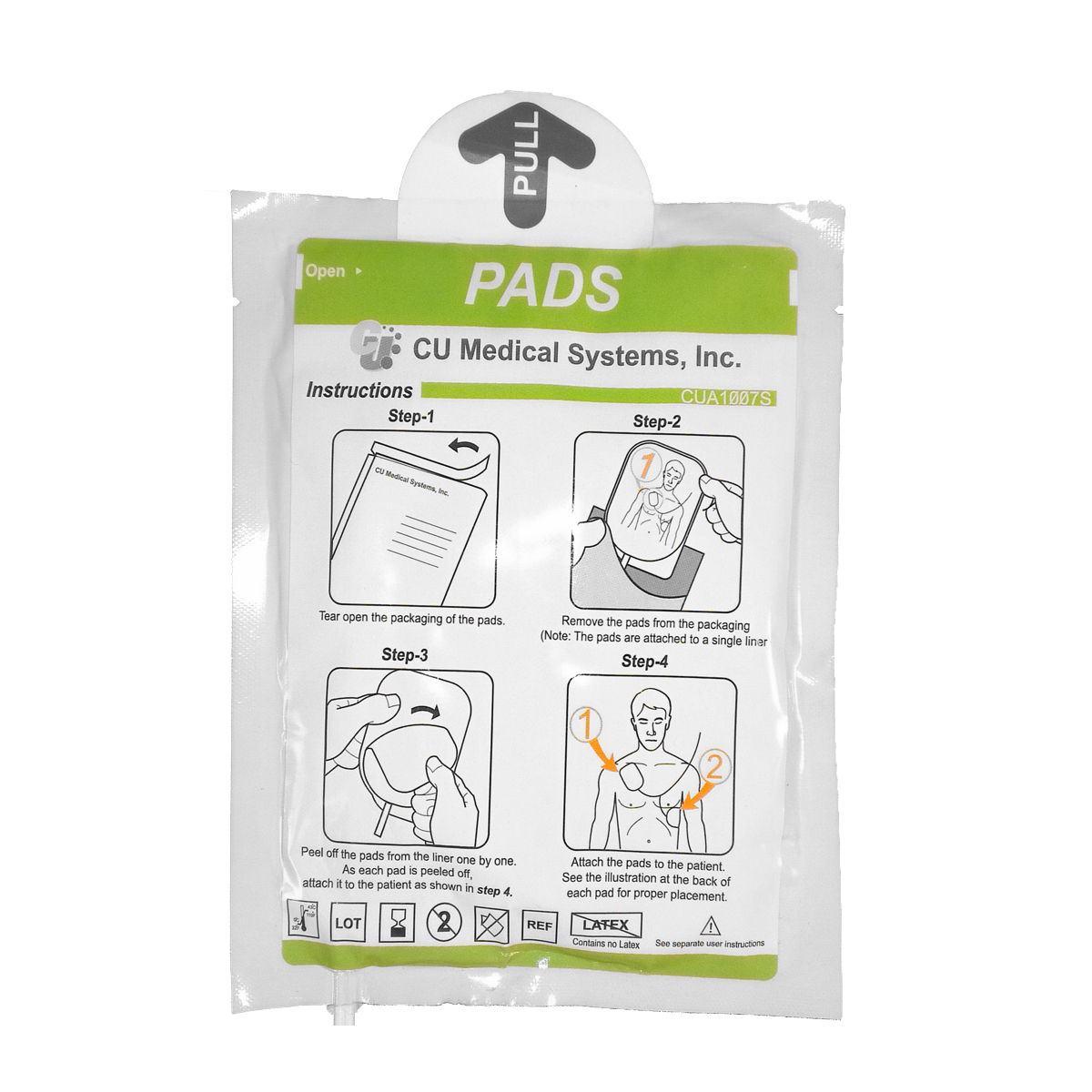 iPAD duel use adult/child electrode pads