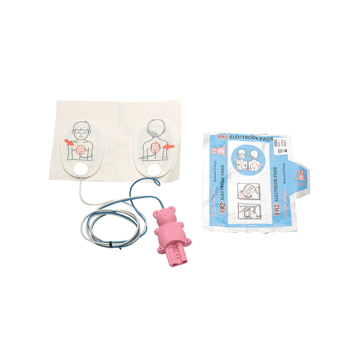 Pair of Philips Heartstart® FR2 Infant/ Child Reduced Energy Defibrillator Pads