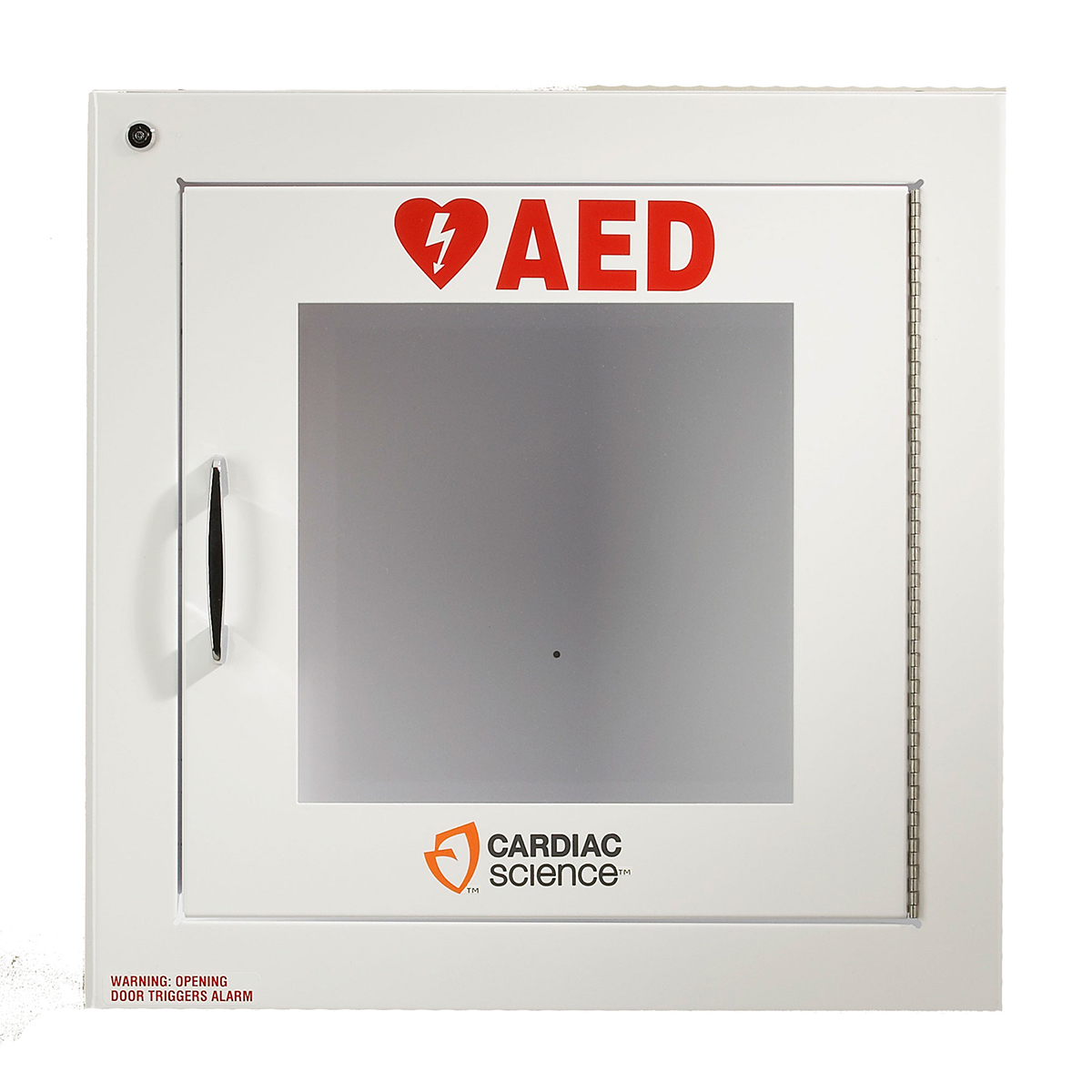 Cardiac Science™ Surface-Mount Defibrillator Wall Cabinet with Alarm