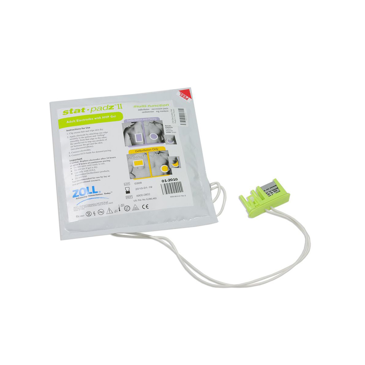 Zoll Stat-Padz® II for AED Plus and AED Pro