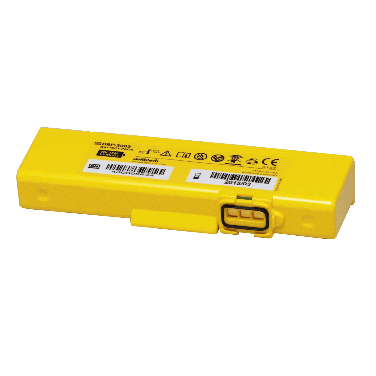 Defibtech Lifeline View Standard Capacity 4-year Battery Pack