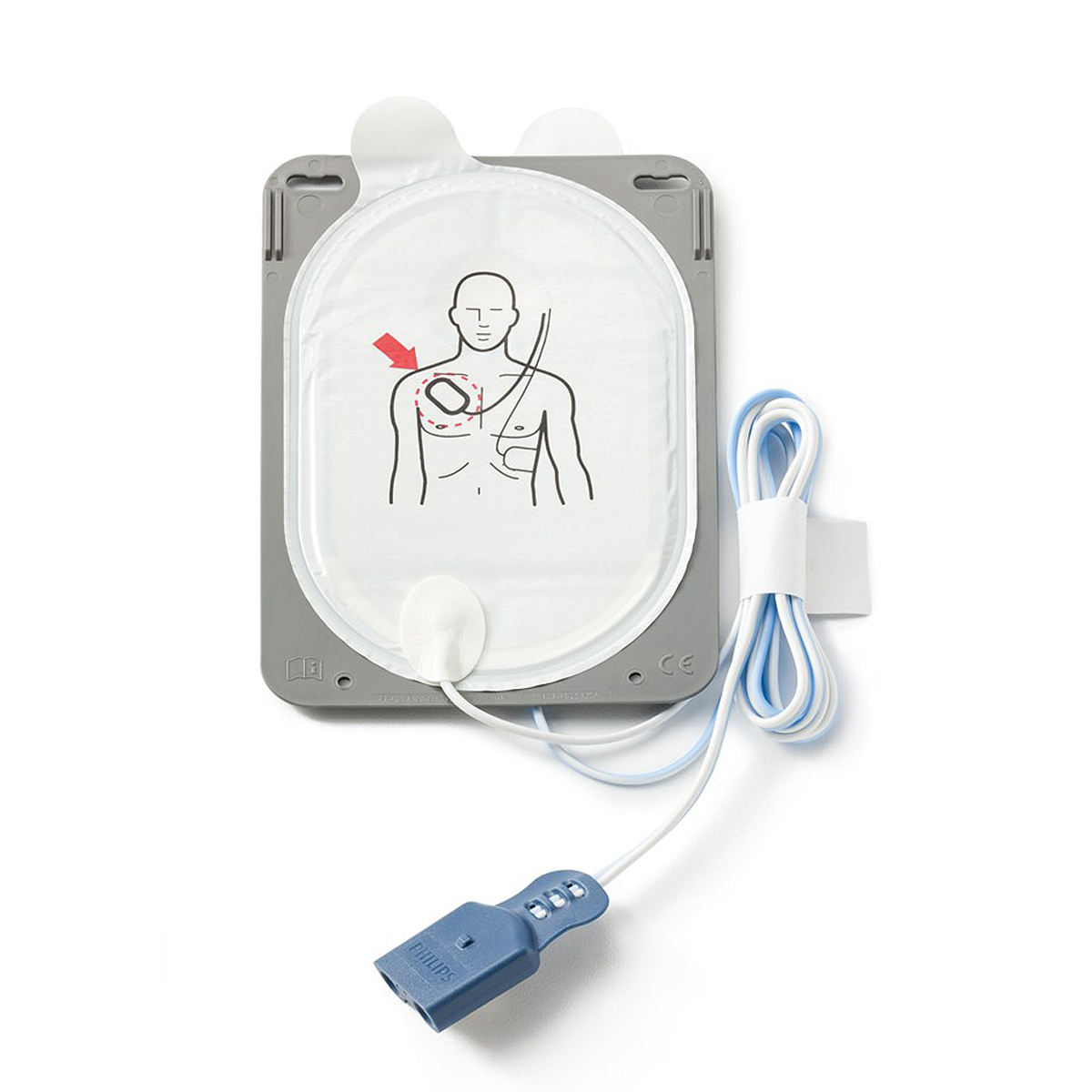 One Pair Philips Heartstart® FR3 Smart Pads