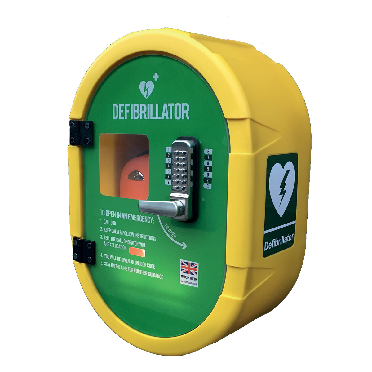 Lockable Defibsafe 2 External Cabinet