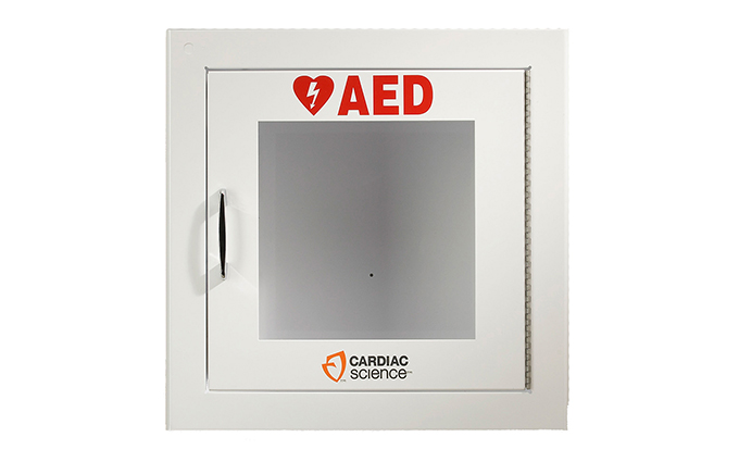 Cardiac Science™ Surface-Mount Defibrillator Wall Cabinet Cardiac Science™ Surface-Mount Defibrillator Wall Cabinet