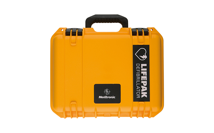 Lifepak® Hard Shell Water-Tight Carry Case for Lifepak® CR Plus and Express Defibrillators Lifepak® Hard Shell Water-Tight Carry Case for Lifepak® CR Plus and Express Defibrillators