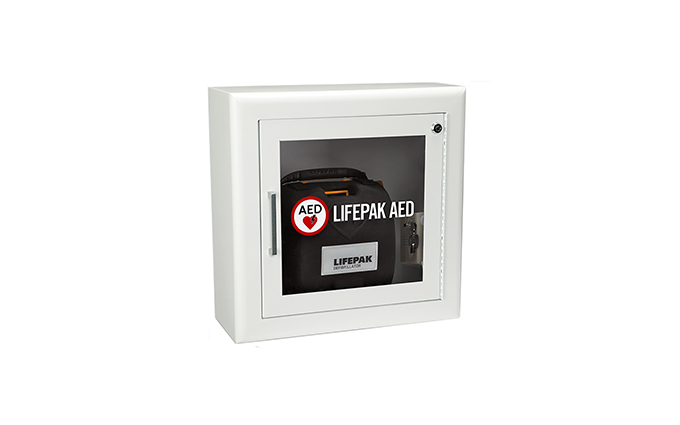 Lifepak® Surface Wall-Mount Defibrillator Cabinet Lifepak® Surface Wall-Mount Defibrillator Cabinet