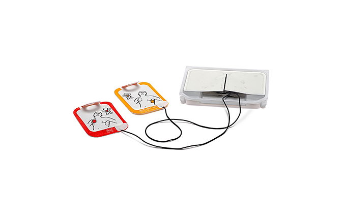 Lifepak® CR2 Replacement QUIK-STEP™ Electrode Kit Lifepak® CR2 Replacement QUIK-STEP™ Electrode Kit