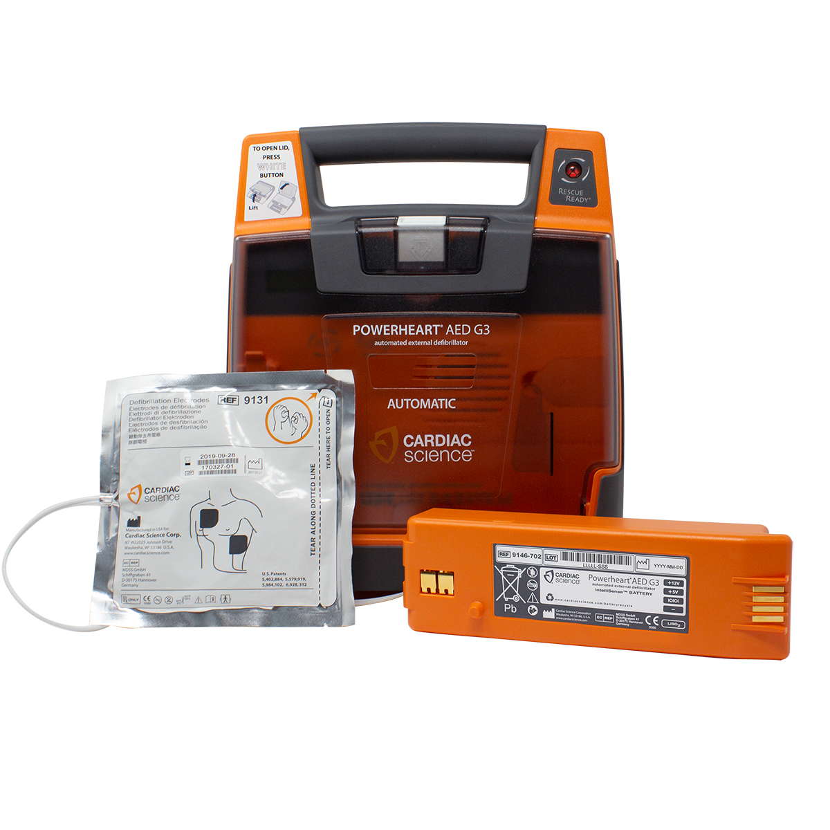 Cardiac Science™ PowerHeart® G3 Elite Semi-Automatic Defibrillator