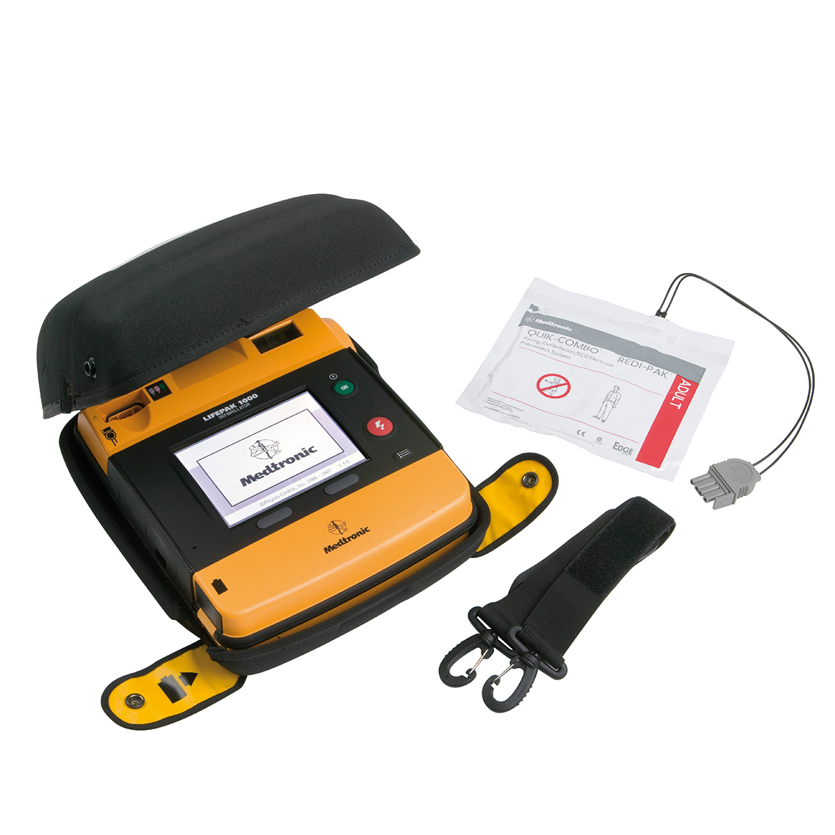 Physio-Control Lifepak® 1000 Semi-Automatic Defibrillator with ECG display and manual override