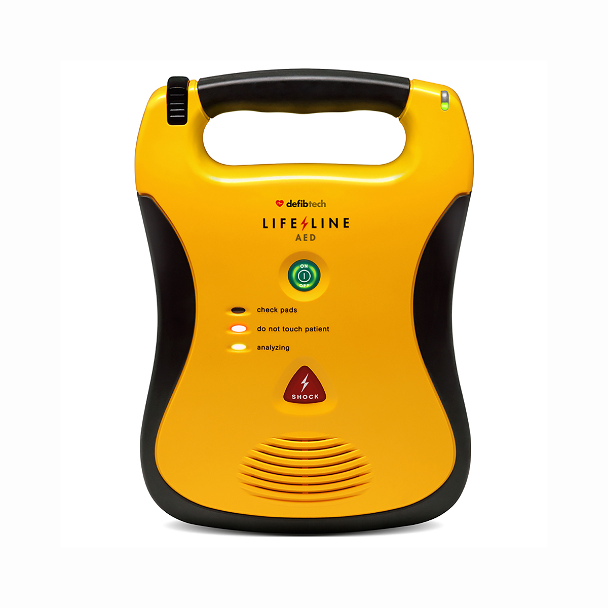 Lifeline AED Semi-Automatic Defibrillator with Standard Capacity Battery Pack