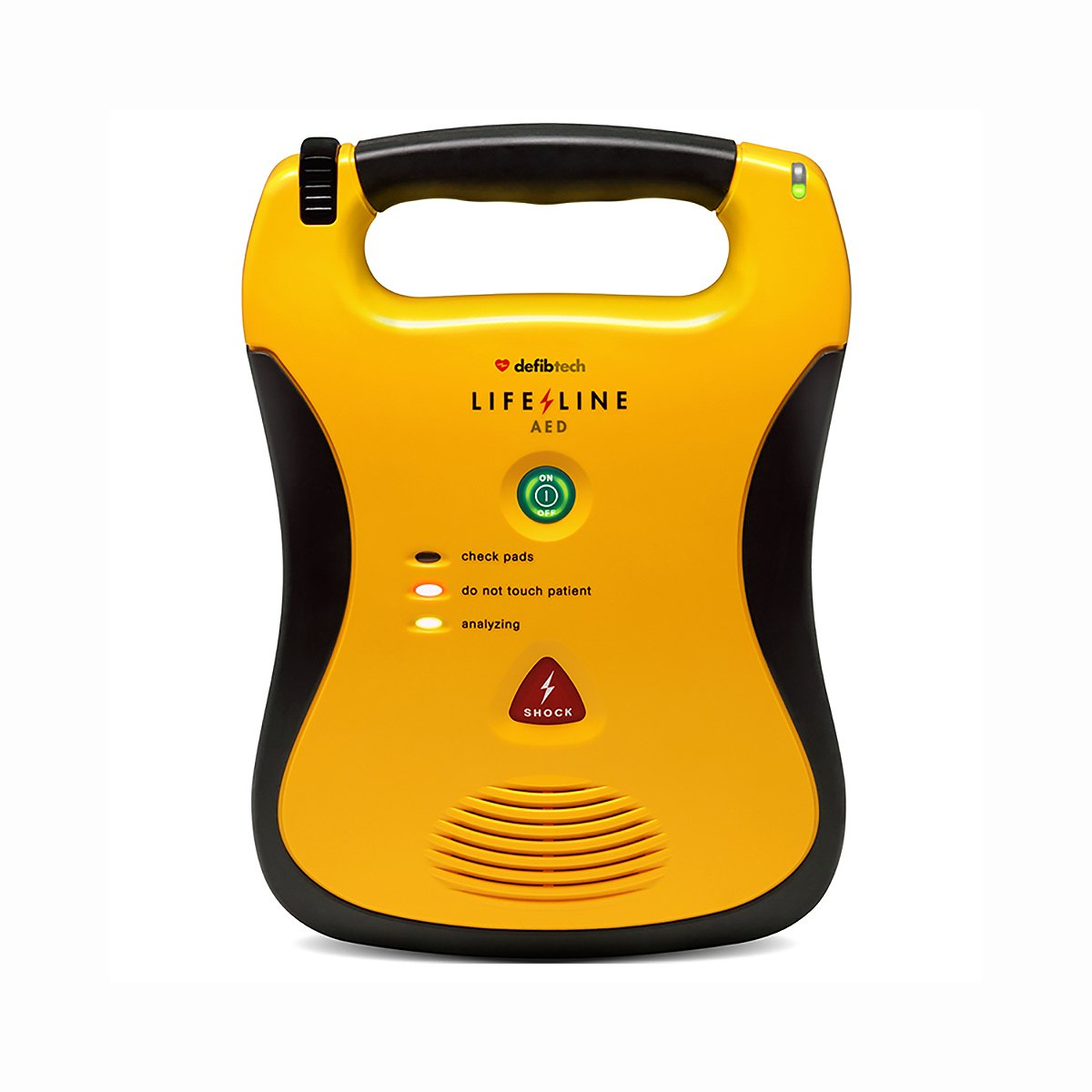 Lifeline AED Semi-Automatic Defibrillator with a High Capacity Battery Pack