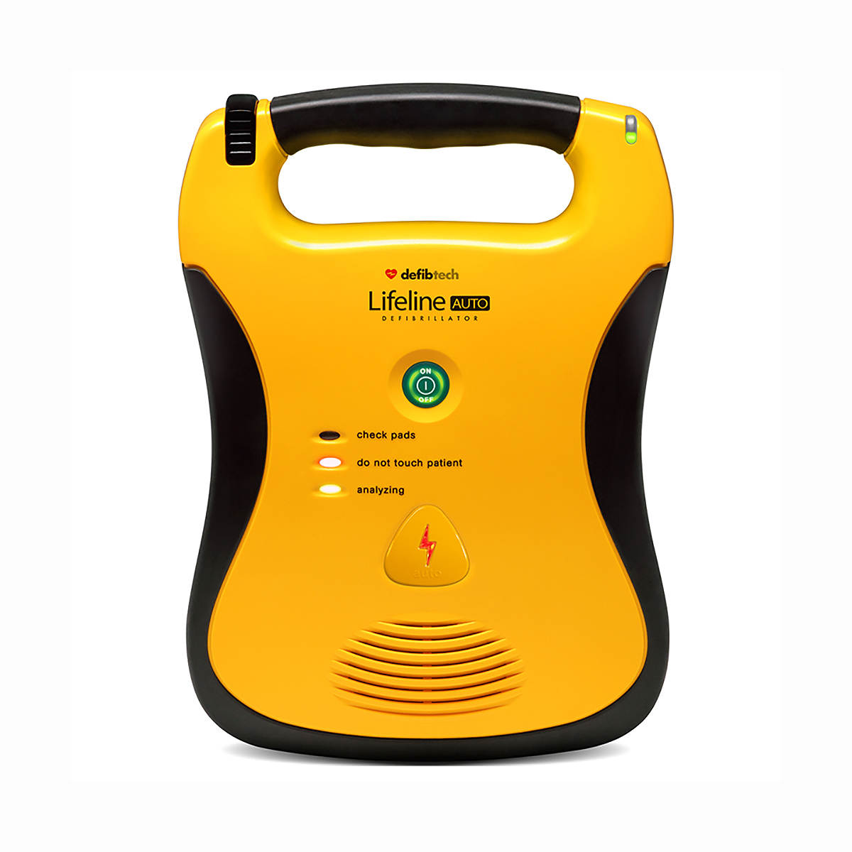 Lifeline AED Fully Automatic Defibrillator with a High Capacity Battery Pack