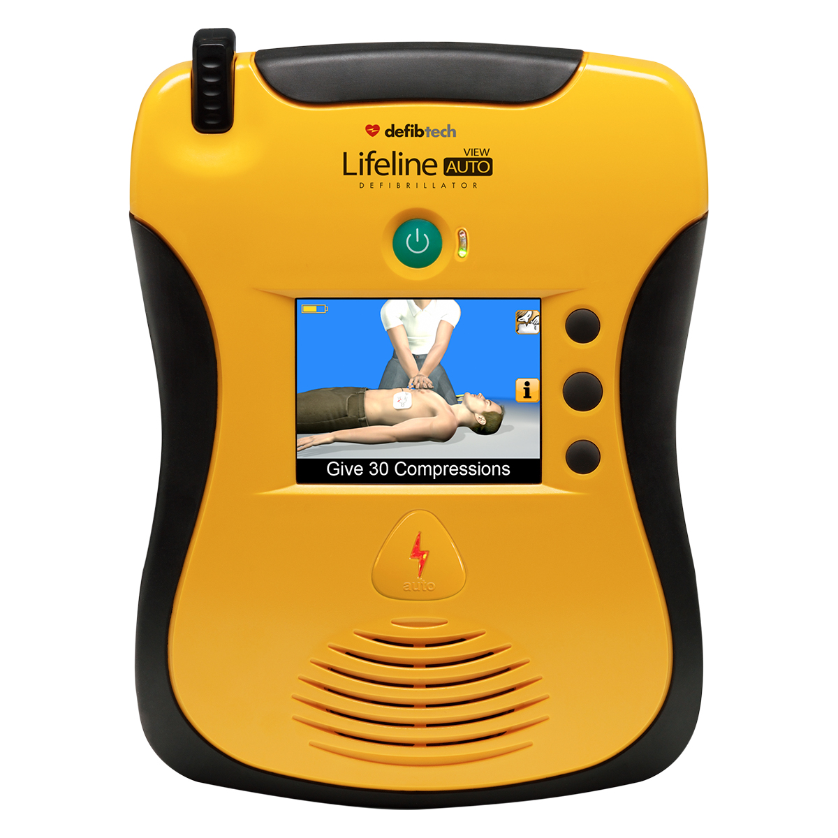 Defibtech Lifeline View AED Fully Automatic Defibrillator with Full Colour Display