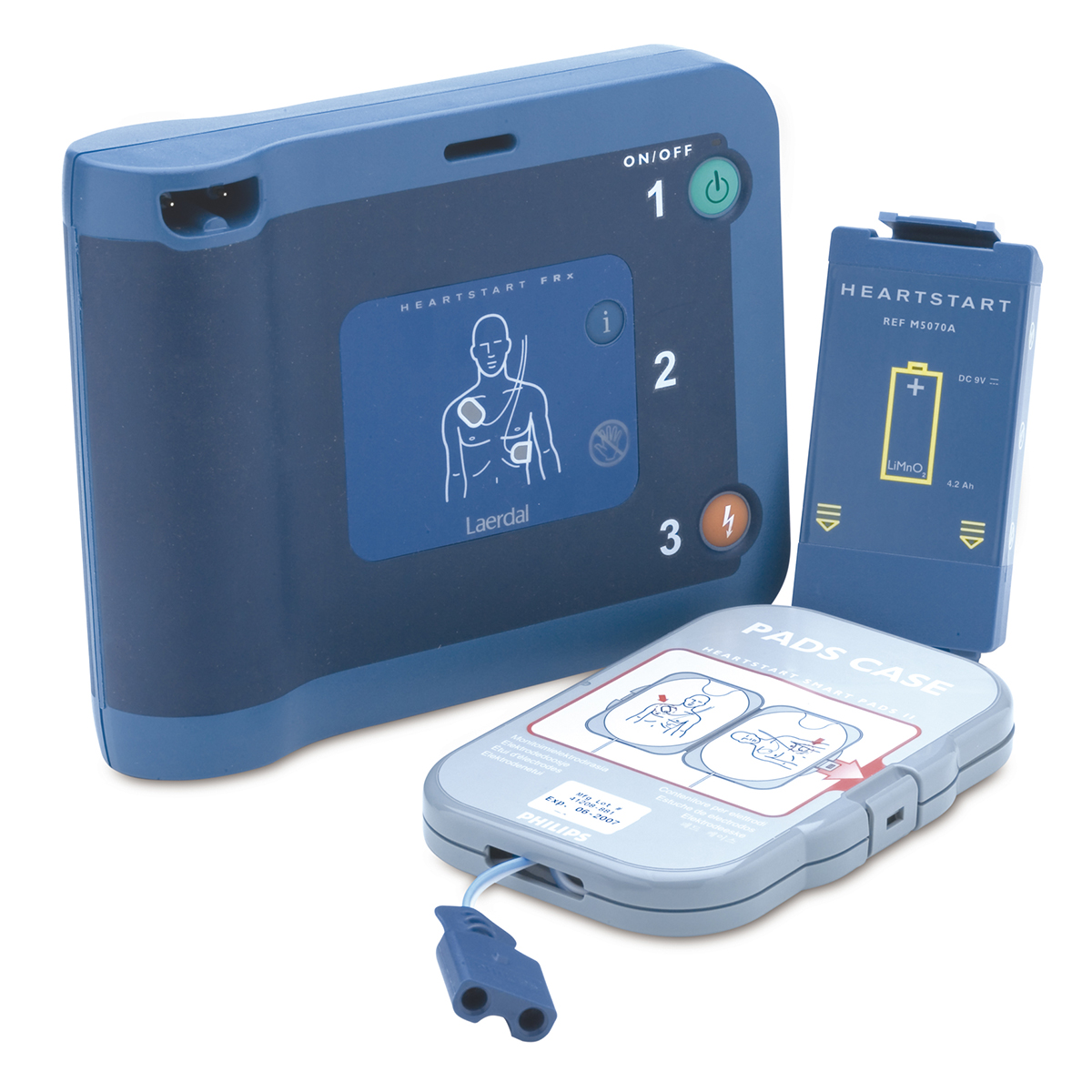 Philips HeartStart® FRx Semi-Automatic Defibrillator with Carry Case