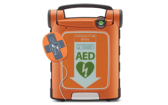 Cardiac Science™ Powerheart® G5 CPR-D Fully Automatic Defibrillator