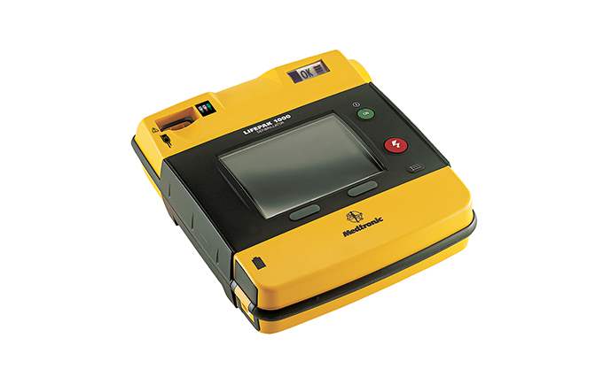 Lifepak® 1000 Semi-Automatic Defibrillator with ECG Display and Manual Override Lifepak® 1000 Semi-Automatic Defibrillator with ECG Display and Manual Override