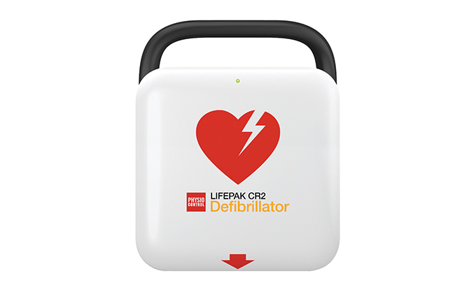 Lifepak® CR2 Fully Automatic Defibrillator with Handle and 3G 30:2 Lifepak® CR2 Fully Automatic Defibrillator with Handle and 3G 30:2