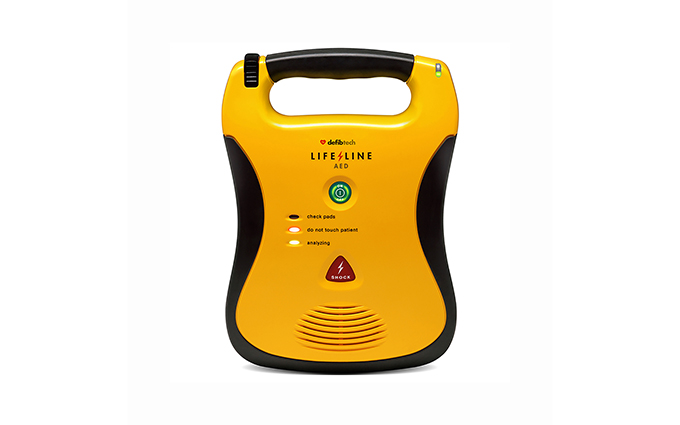 Defibtech Lifeline AED Semi-Automatic Defibrillator with 5 Year Battery Pack Defibtech Lifeline AED Semi-Automatic Defibrillator with 5 Year Battery Pack