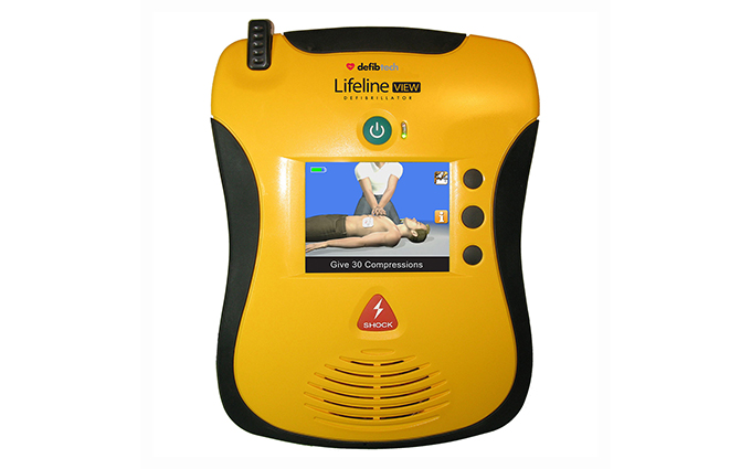 Defibtech Lifeline View AED Semi-Automatic Defibrillator with Full Colour Display Defibtech Lifeline View AED Semi-Automatic Defibrillator with Full Colour Display