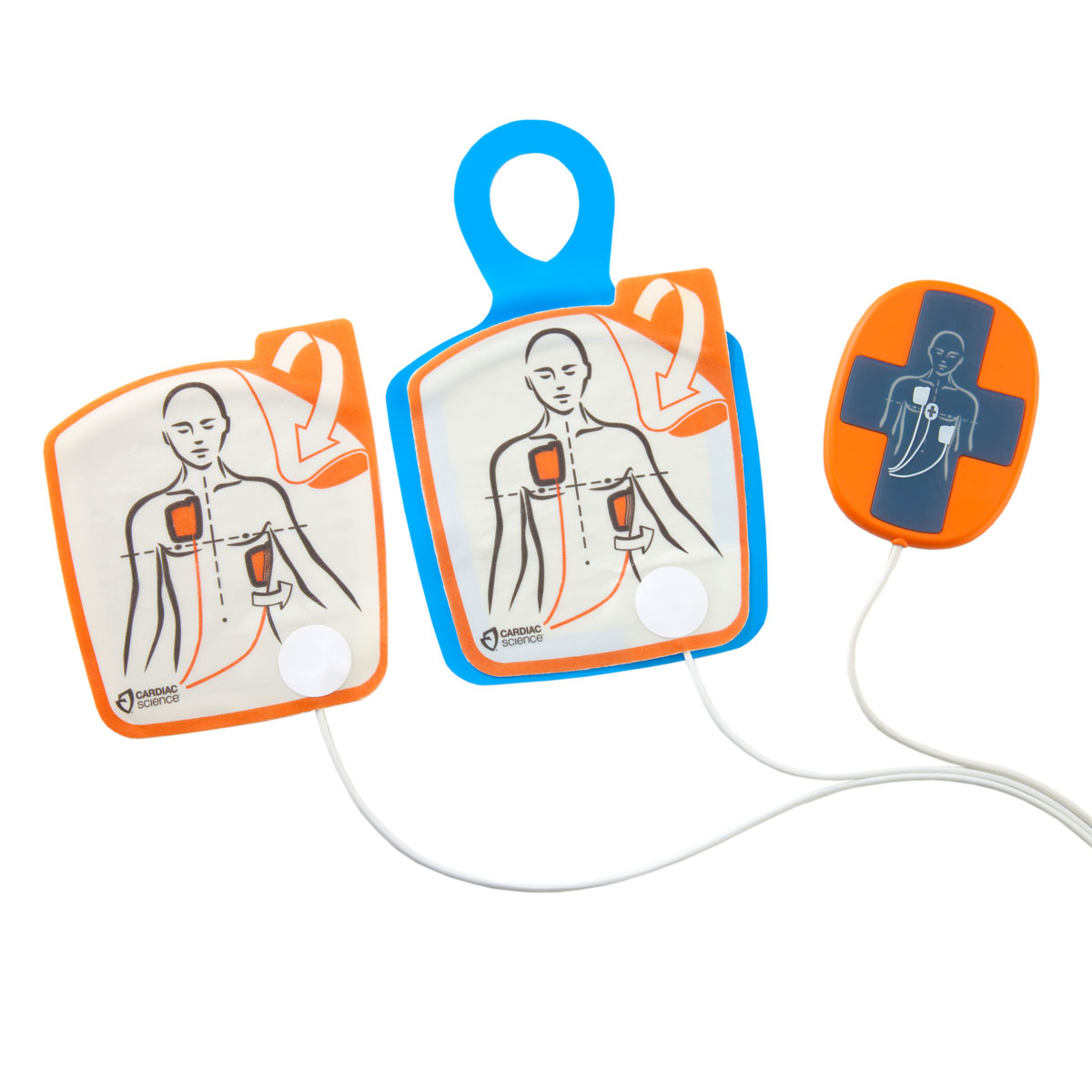Cardiac Science™ Powerheart® G5 Adult Training Pads with CPR Device