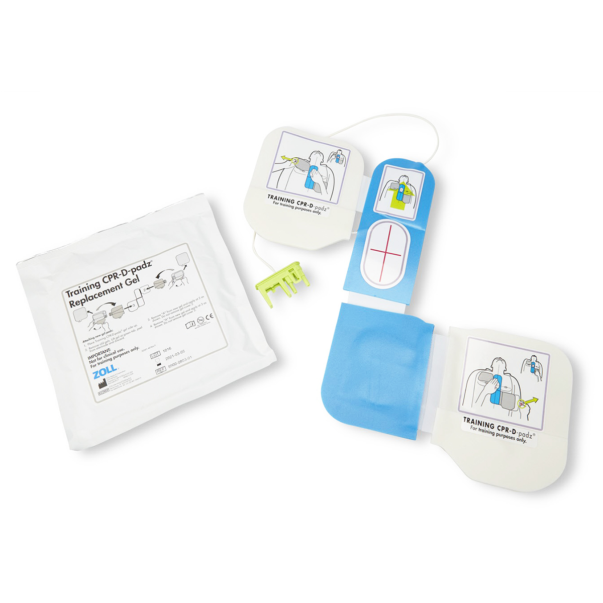 Zoll Training CPR-D Padz® with Reusable Puck and Replacement Pads