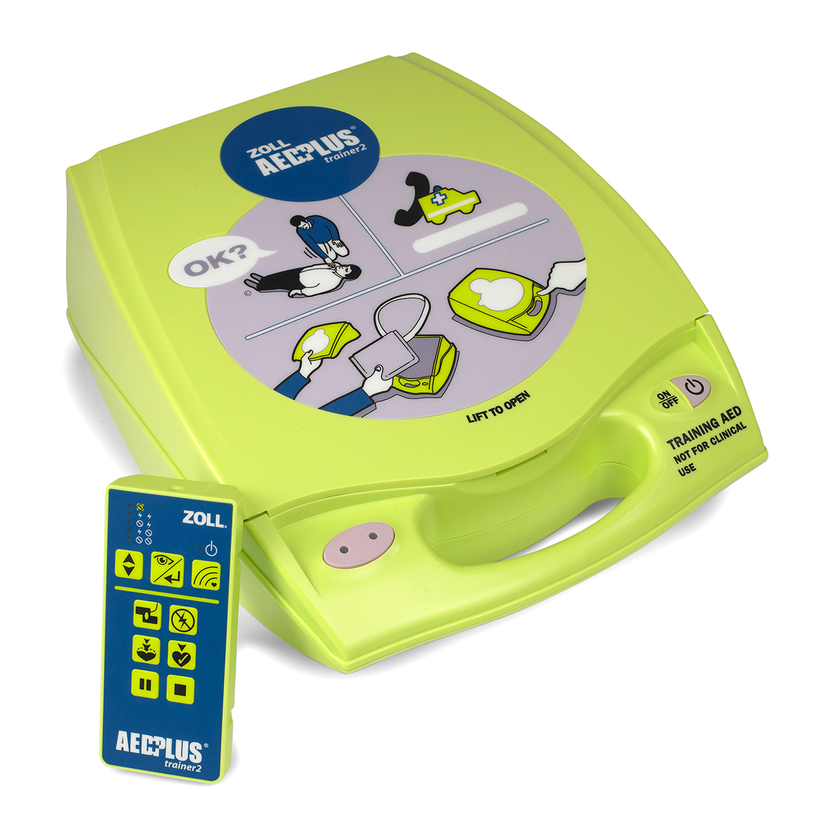 Zoll AED Plus® Trainer 2 - Defibrillator Training Device
