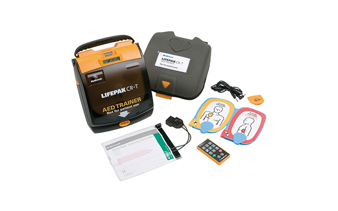 Lifepak® CR-T Defibrillator Trainer Lifepak® CR-T Defibrillator Trainer